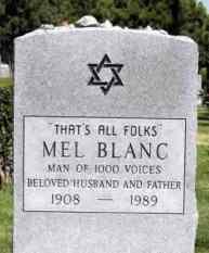 Mel Blanc's epitaph, Steve of Upland image