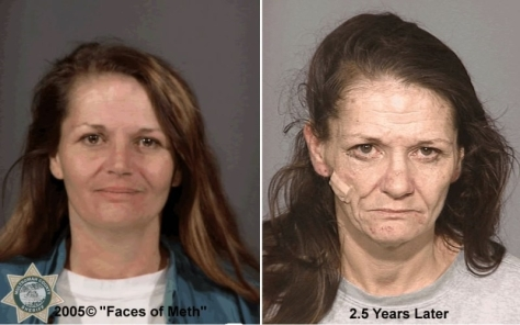 two-and-a-half years of meth addiction