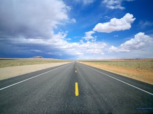 desert-road